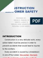 CONSTRUCTION MANPOWER SAFETY