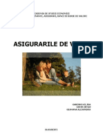 ASIGURARILE DE VIATA