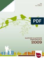 Rapport Rse 2009 de Fsm
