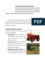 UNIT 3 Tractors and Power Trailers