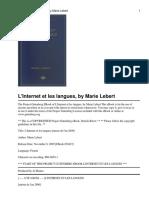 L'İNTERNET ET LES LANGUES lebertm3042330423-8