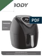Freidora Sin Aceite Digitalpe Af612n m