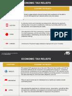 Economic Tax Reliefs