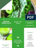 Gerson Green Juice