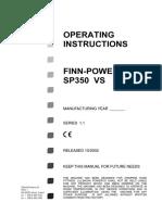 SP350VS非液压软管总成扣压机-sp350