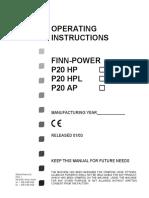 P20HP手动操作扣压机-p20hp