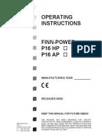 P16型手动操作扣压机-p16hp