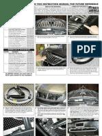04 09 Lexus Rx Grille Installation Manual Carid