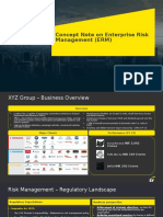 EY - Approach note on ERM_PPT