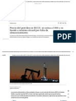 Coronavirus _ Precio del petróleo en EE.UU. se cotiza a US$1 y se hunde a mínimo récord por falta de almacenamiento _ Estados Unidos _ USA _ nndc Mercados _ El Comercio Perú.pdf