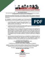 02may2020 - Comité Central - Ante La Persecución Política a Dirigentes Sindicales de Valparaíso