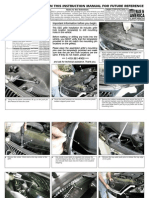 06 08 Lexus is Grille Installation Manual Carid