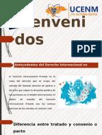 Diapositivas sobre Antecedentes del Derecho Internacional de Honduras