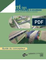 Sécurité des convoyeurs à courroies_Guide du concepteur