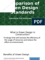 Green Building Standards SL
