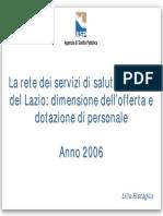 CSM 2004 - La rete dei servizi e il personale (Bioetica)