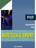 Bioetica e sport - Bellotti
