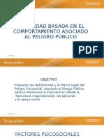SEGURIDAD BASADA EN EL COMPORTAMIENTO ASOCIADO AL PELIGRO