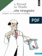 La souris truquée - enquête sur la fraude scientifique