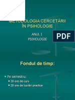 INTRODUCERE in cercetarea psihologica.curs1