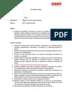 DESCRIPTOR DE CARGO PS