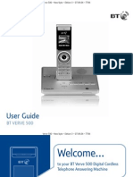BT Verve 500 User Guide