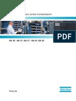 Compresora - Atlas Copco - Manual de partes GA37 API537143
