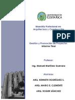 Caso de Proyecto de Gestión - MPAC - UCR