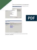 Instalación de los servicios de Terminal Server y sus componentes