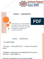 CREO - CREEMOS