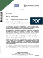 Circular CR-20190198 - Normalización Decreto para el desarrollo profesional Gente Mar