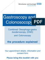 Gastroscopy and Colonoscopy