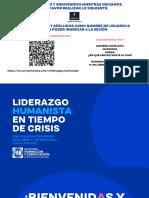 Liderazgo Humanista Crisis Yucatan Merida