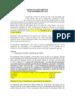 ASAMBLEA GENERAL EXTRAORDINARIA (proyecto)