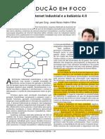 A era da internet industrial e a Industria 4.0
