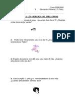 cuaderno de problemas de 3º 2008-09