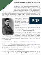 La razón por la que el último teorema de Fermat escapó de las garras de Lamé - Gaussianos | Gaussianos