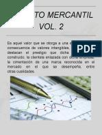 Credito mercantil adquirido (Volumen 2)