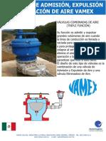 Válvulas Combinadas de Aire Triple Función VAMEX ASTM A536.pdf