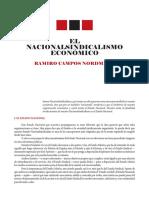 El Nacionalsindicalismo Economico