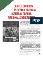 Dirigentes Obreros Serafin Reboul Estecha Cons