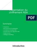 Présentation du chiffrement RSA