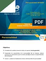 DIAPOSITIVAS MAPAS MENTALES TEORIAS DE LA PERSONALIDAD