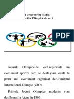 Educațe Fizica Si Sport - Jocurile Olimpice