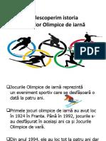 Educație Fizică Și Sport - Jocurile Olimpice de Iarnă