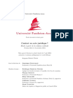 2018-11-13 Moron-Puech (B.), Contrat ou acte juridique -, thèse sous la dir. D. Fenouillet, Université Panthéon-Assas, 2016_2