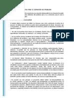Lectura 2 - Etapas y análisis del problema