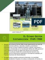 Tema 8 Costa Rica Contemporanea El Estado Gestor o Benefactor