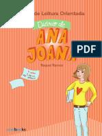 Guião de Leitura Orientada - Diário de Ana Joana 12 Anos