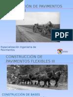 CONSTRUCCIÓN DE PAVIMENTOS FLEXIBLES III